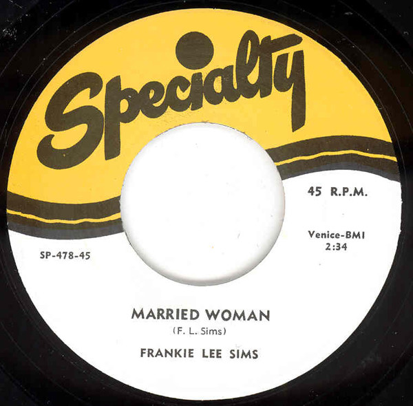 Married Woman b-w I'm Long, Long Gone 7inch, 45rpm