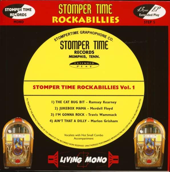 Stomper Time Rockabillies Vol.1 (7inch, 45rpm, PS)