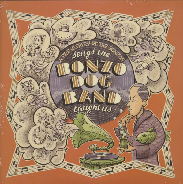 Songs The Bonzo Dog Band Taught Us (2-LP, 180g Vinyl)