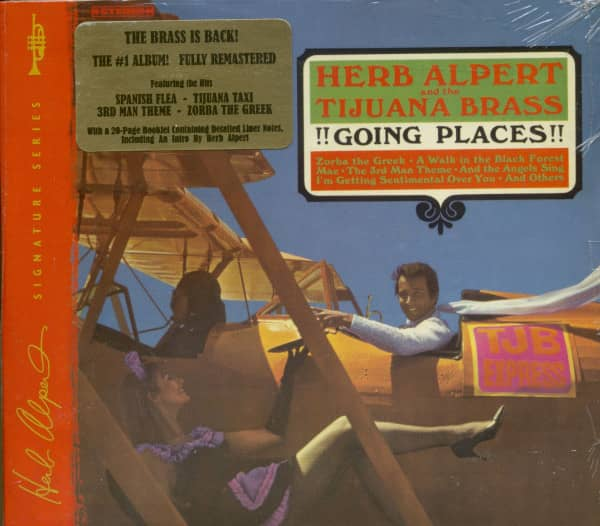 Going Places (CD)