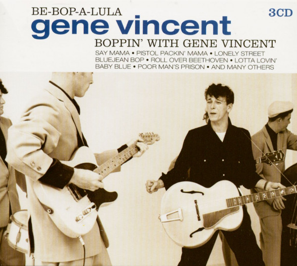 Boppin' With Gene Vincent (3-CD)