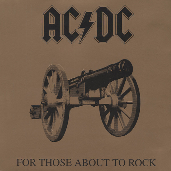 For Those About To Rock (1981) 180g Gatefold