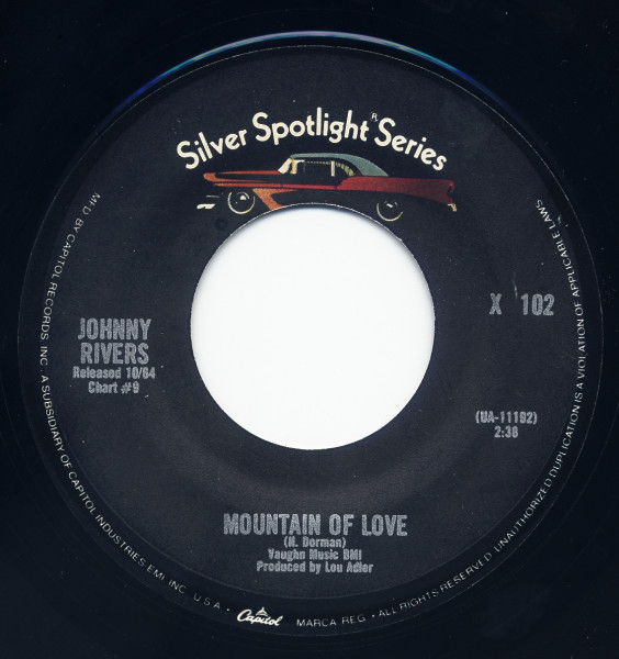 Mountain Of Love - Maybellene 7inch, 45rpm