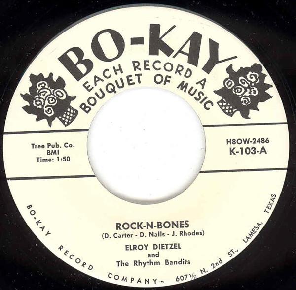 Rock-N-Bones b-w Shang-Hai-Rock 7inch, 45rpm