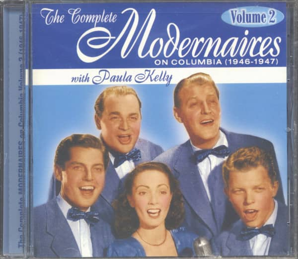 The Complete Modernaires With Paula Kelly On Columbia Vol.2 - 1946-47 (CD)