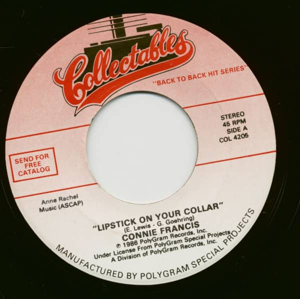 Lipstick On Your Collar - Everybody's Somebody's Fool (7inch, 45rpm)
