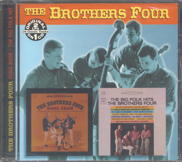The Brothers Four CD: Song Book - The Big Folk Hits (CD