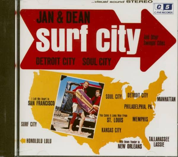 Surf City (CD Album)