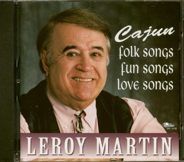 Cajun Folk Songs - Fun Songs And Love Songs (CD)