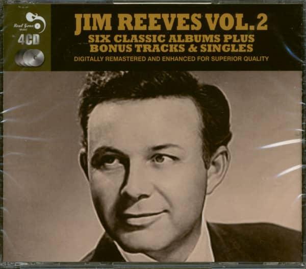 Six Classic Albums Plus Bonus Tracks & Singles - Jim Reeves Vol.2 (4-CD)