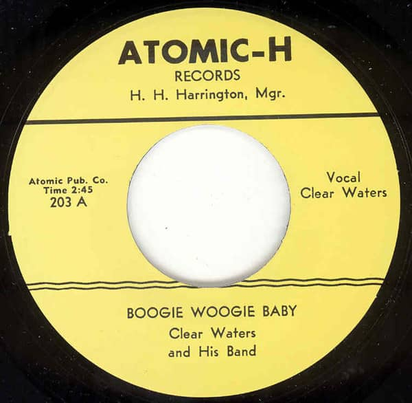 Boogie Woogie Baby - Hill Billy Blues 7inch, 45rpm