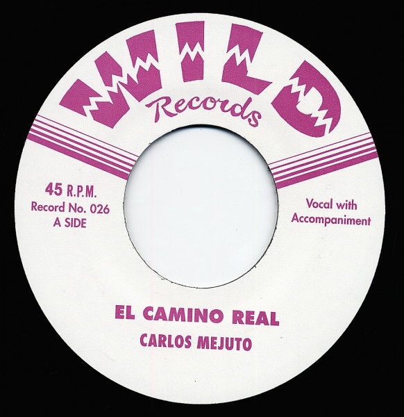 El Camino Real - Waterboy 7inch, 45rpm, CS, ltd.