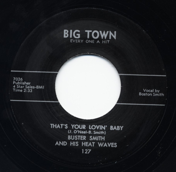 That's Your Lovin' Baby b-w Til Broad Daylight 7inch, 45rpm