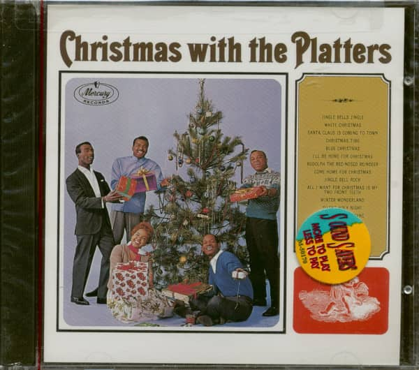 Christmas With The Platters (CD)
