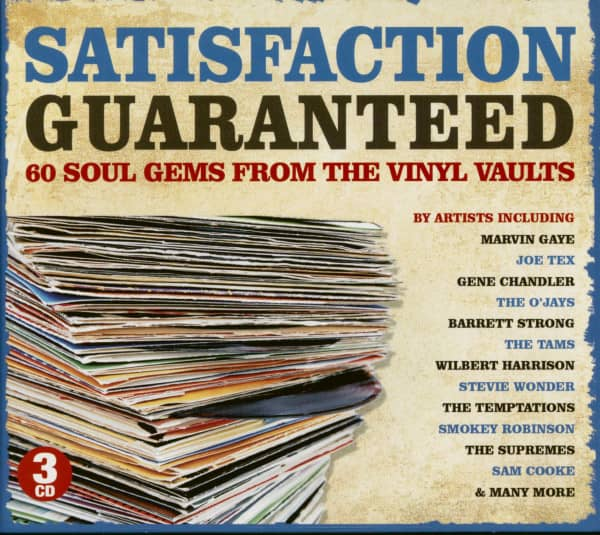 Satisfaction Guaranteed - 60 Soul Gems From The Vinyl Vaults (3-CD)