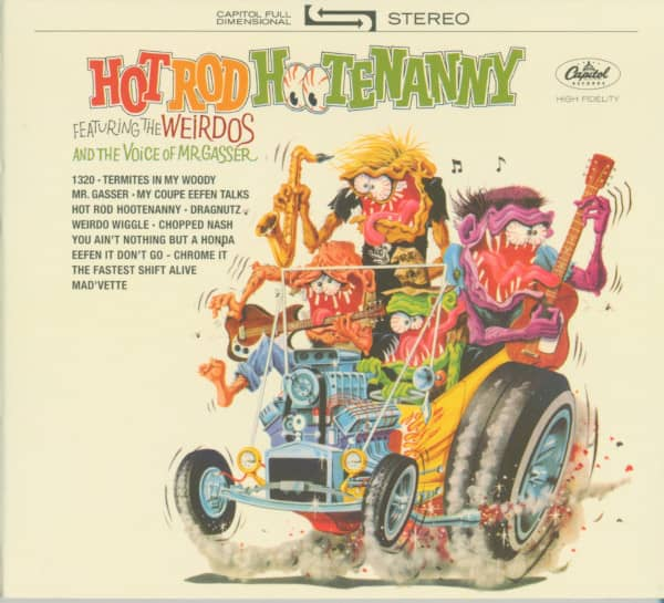 Hot Rod Hootenanny (1963) Limited Edition