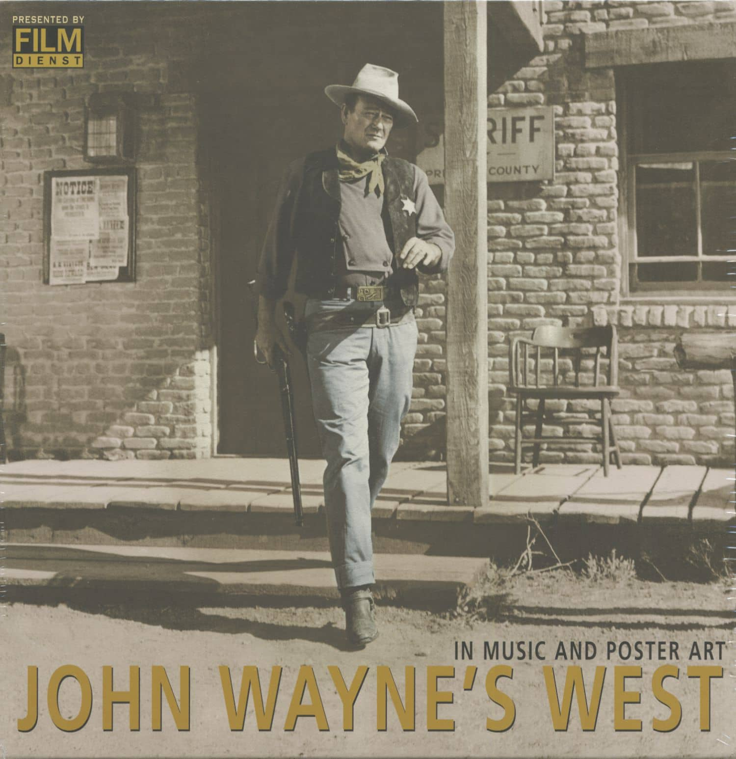 John Wayne Box set  John Wayne s West - In Music And Poster Art (10 ... 2d6466a9c666