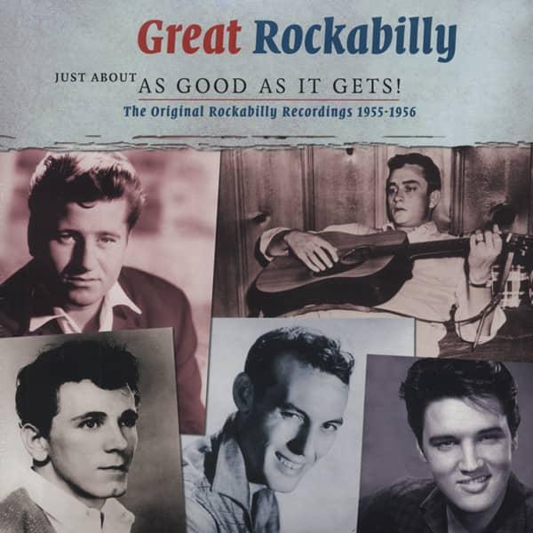 Great Rockabilly 1955-56 (2-LP)
