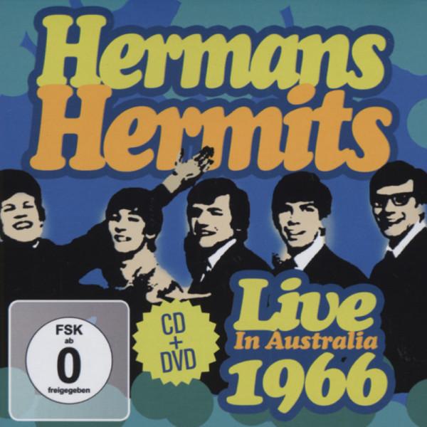 Live In Australia 1966 (CD&DVD)