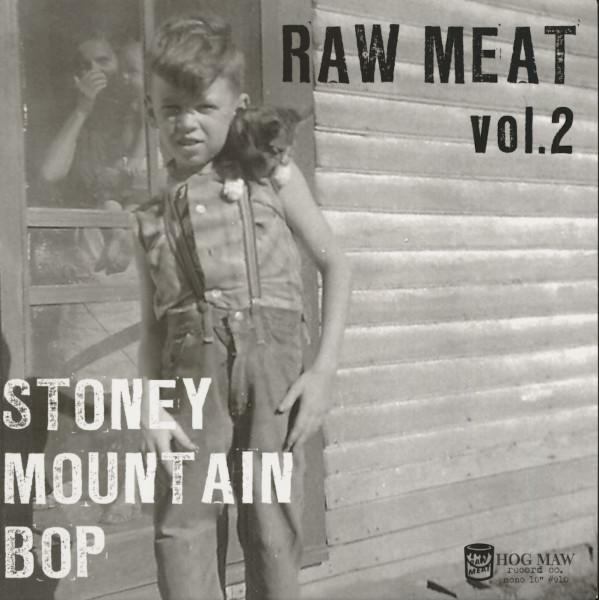 Stoney Mountain Bop - Raw Meat Vol.2 (LP, 10inch)