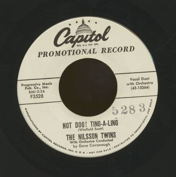 Hot Dog Ting-A-Ling - For This My Heart Sings (7inch, 45rpm)