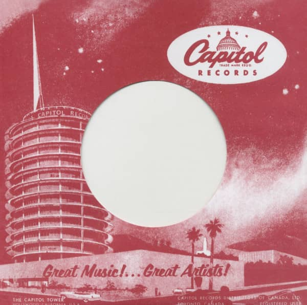 (10) Capitol, Canada - 45rpm record sleeve - 7inch Single Cover