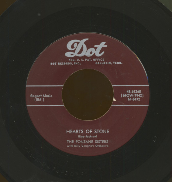Hearts Of Stone b-w Bless Your Heart (7inch, 45rpm)