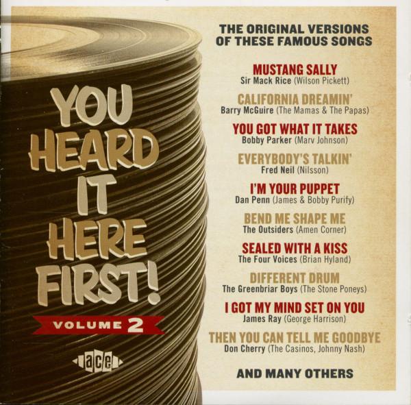You Heard It Here First! Vol.2 (CD)