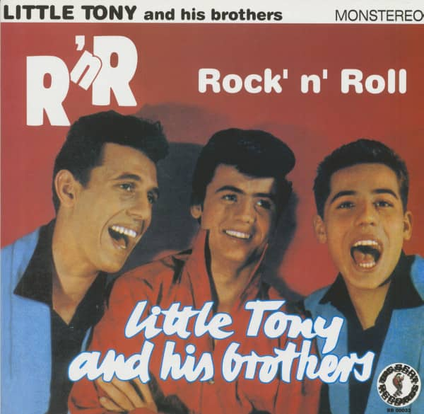 Little Tony And His Brothers - Rock'n'Roll (10inch LP)