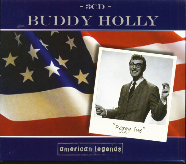 Buddy Holly - Peggy Sue - American Legends (3-CD)