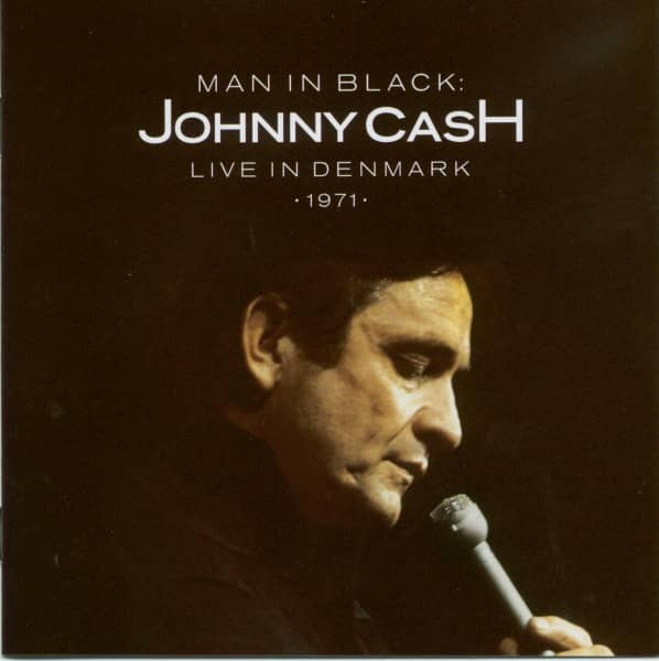 Man In Black: Live In Denmark 1971 (CD)
