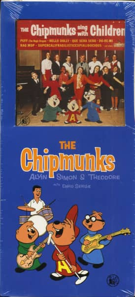 The Chipmunks Sing With Children (CD)