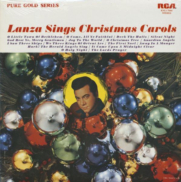 Lanza Sings Christmas Carols (LP)