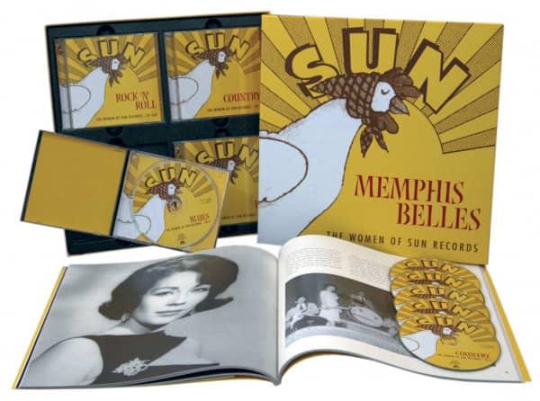 Memphis Belles - The Women Of Sun Records (6-CD Deluxe Box Set)