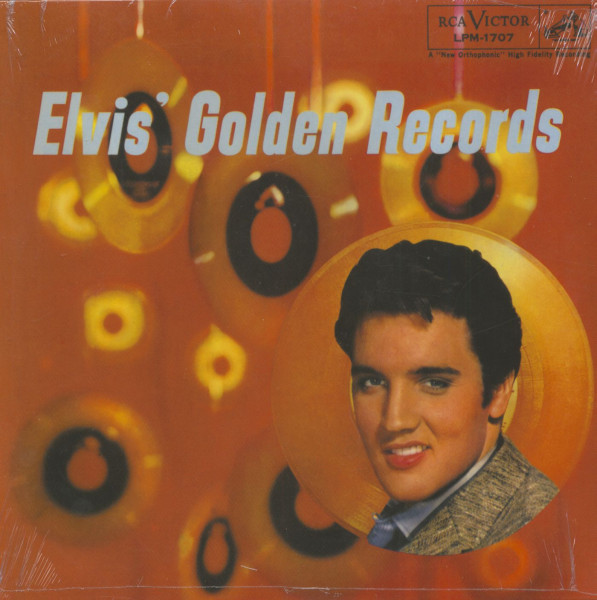 Elvis' Golden Records (LP, 180g Vinyl)