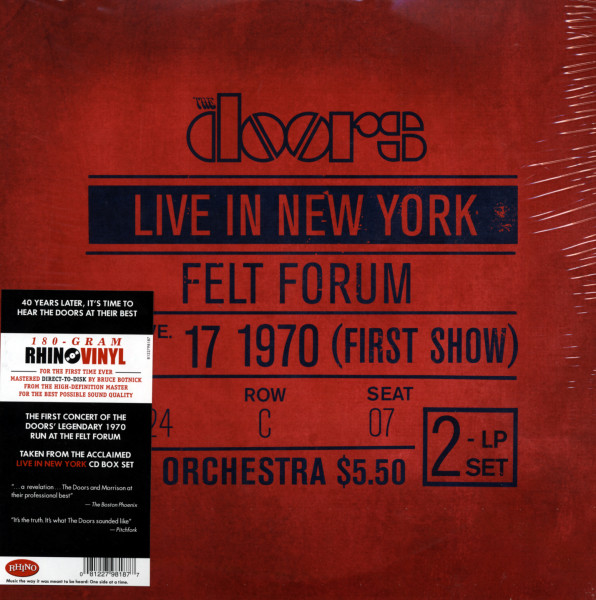 Live In New York - January 17, 1970 First Show (2-LP) 180g Vinyl