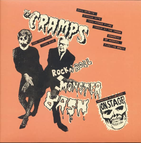 Rock'n'Roll Monster Bash - Hardcore Hillbillys On Stage (LP)