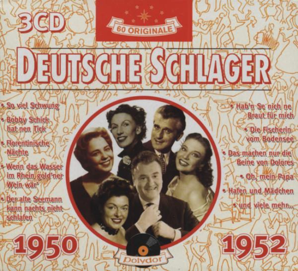 Deutsche Schlager 1950-52 (3-CD)