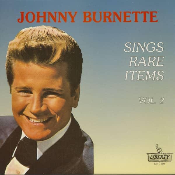 Johnny Burnette Sings Rare Items Vol.2 (LP)