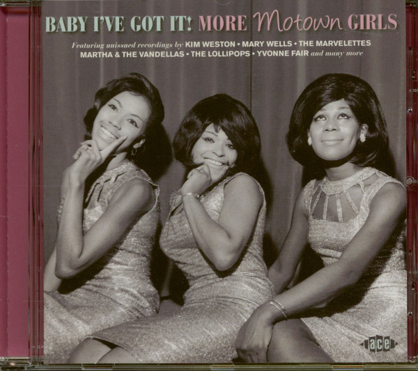 Baby I've Got It!: More Motown Girls (CD)