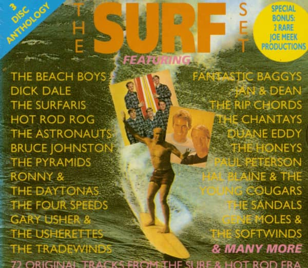 The Surf Set (3-CD)