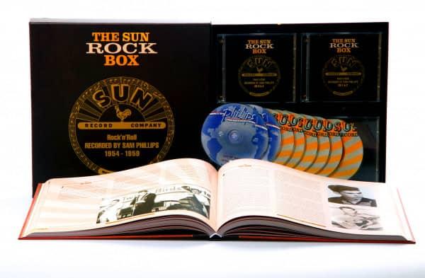 Sun Rock Box 1950-1959 (8-CD Deluxe Box Set)
