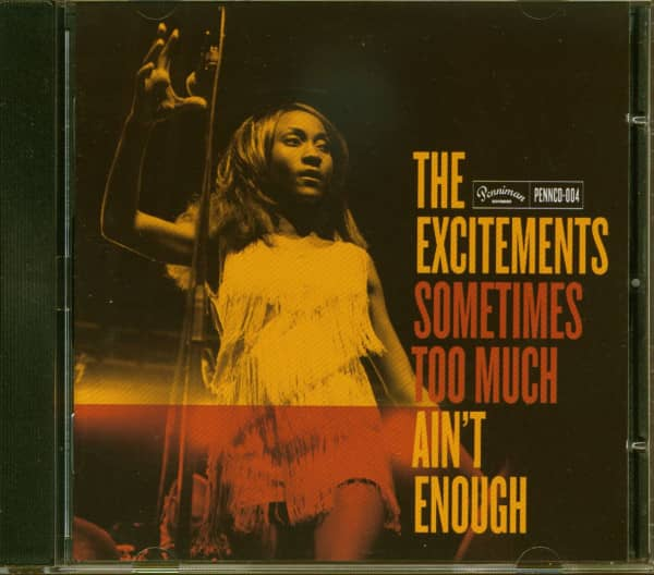 Sometimes Too Much Ain't Enough (CD)