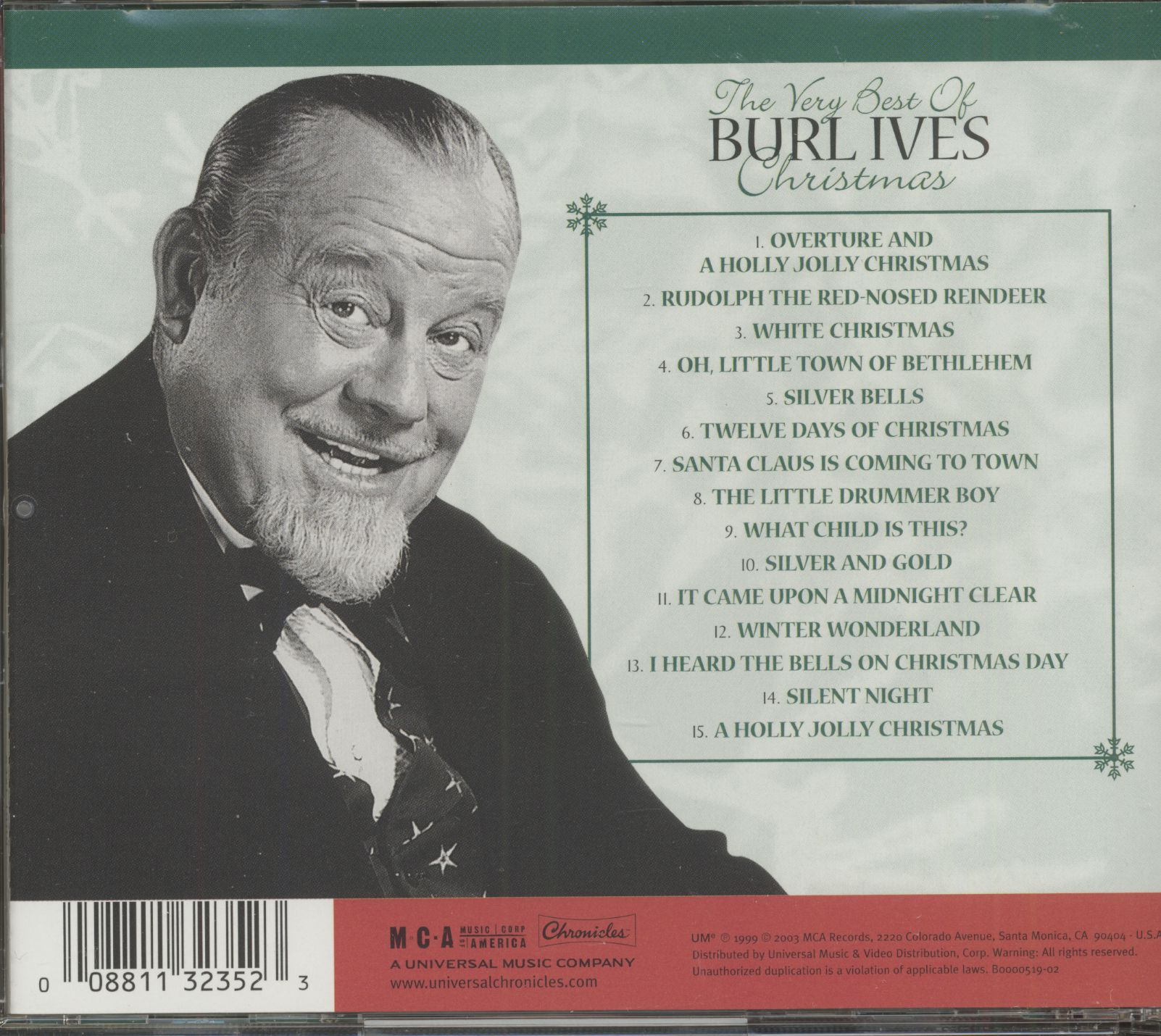 Burl Ives Christmas.Burl Ives Christmas Collection 20th Century Masters