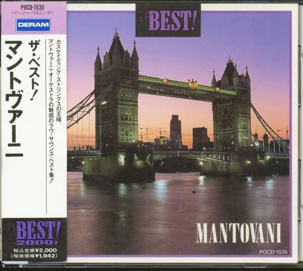 The Best! - Mantovani (CD, Japan)