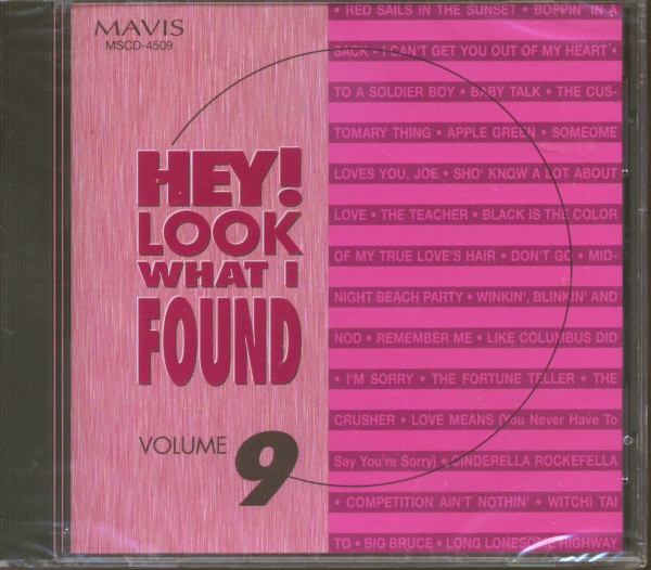 Hey! Look What I Found Vol.9 (CD)