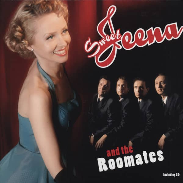 Sweet Jeena & The Roomates LP&CD