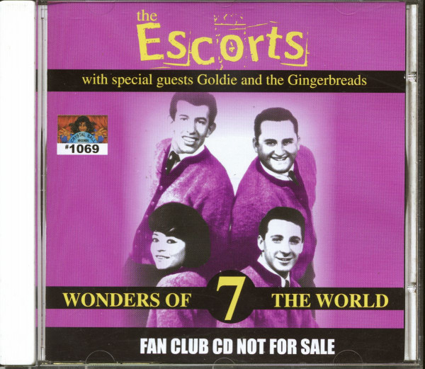The Escorts With Special Guests Goldie & The Gingerbreads - 7 Wonders Of The World (CD)