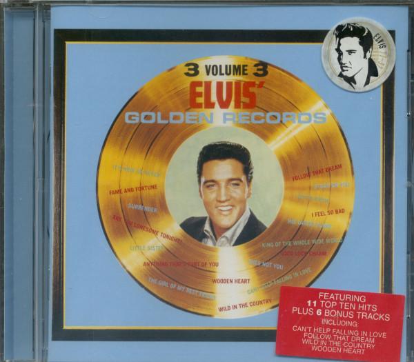 Golden Records, Volume 3...plus (CD)