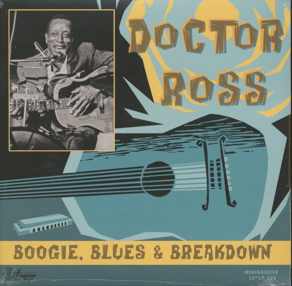 Boogie, Blues And Breakdown (LP, 10inch)